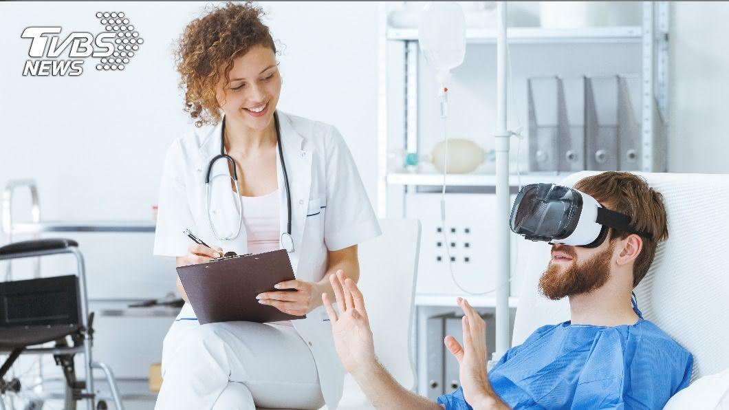 示意圖/shutterstock 達志影像 科技多元應用 打VR電動治療創傷後壓力症候群