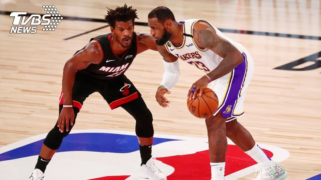 (圖/達志影像路透社) NBA總冠軍賽!湖人拚關門奪冠 熱火背水一戰