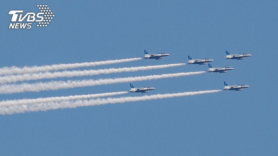 日本半年內戰機多次緊急升空。(示意圖/達志影像路透社) 為應付共機!日本戰機半年內緊急升空371次