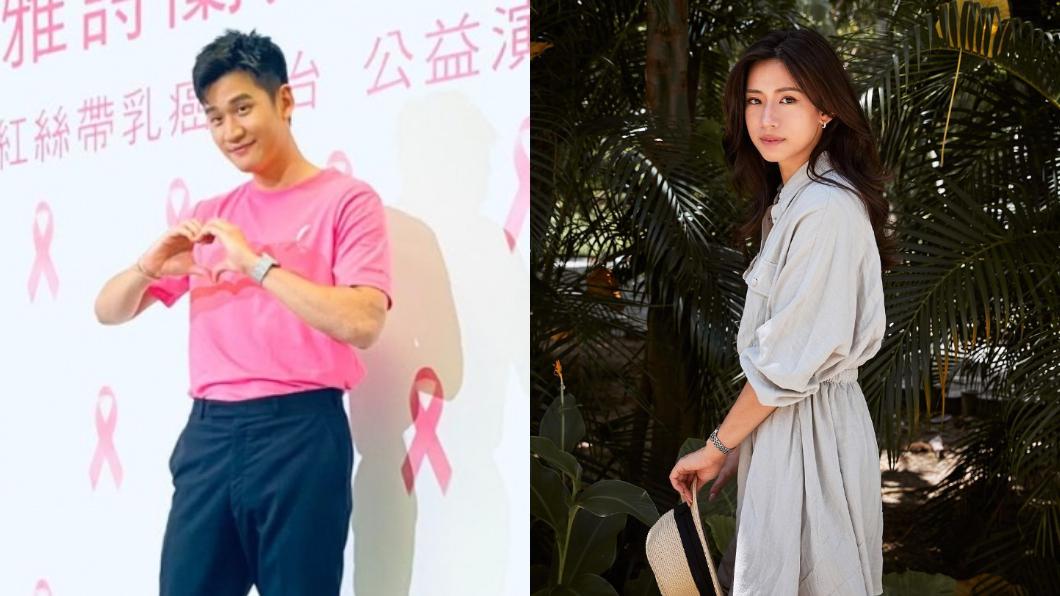 (圖/ (左)TVBS、(右)翻攝自趙岱新Dacie Chao Facebook) 2年姐弟戀告吹?周興哲爆分手趙岱新 經紀人回應了