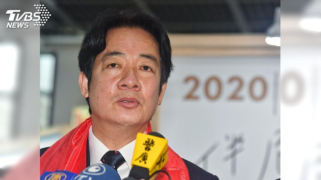 副總統賴清德。(圖/中央社) 談李孟居案 賴清德指「陸先押人後強迫告白戲碼」