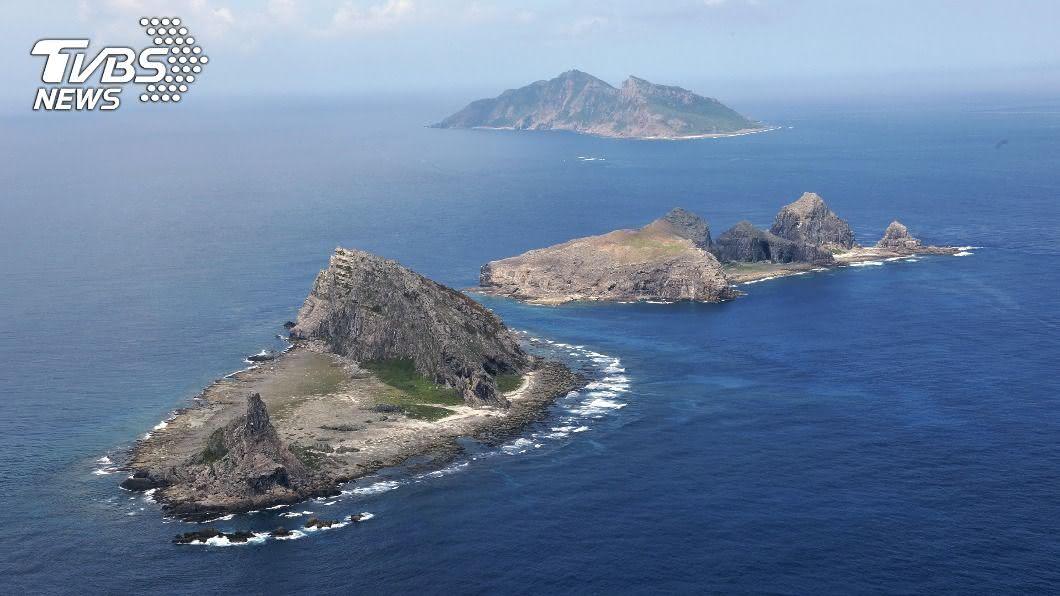 (圖/達志影像美聯社) 陸海警船逗留釣魚台海域 日本政府嚴重抗議