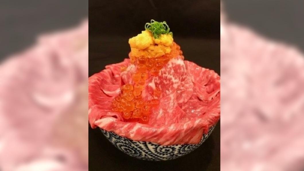 圖/翻攝自Tata的吃货星球(示意圖) 和牛海鮮丼、松露蛋拌飯 豪奢美味挑動味蕾