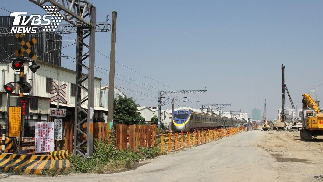 南鐵地下化預定115年完工。(圖/中央社) 南鐵地下化預定115年完工 展現台南都會新貌