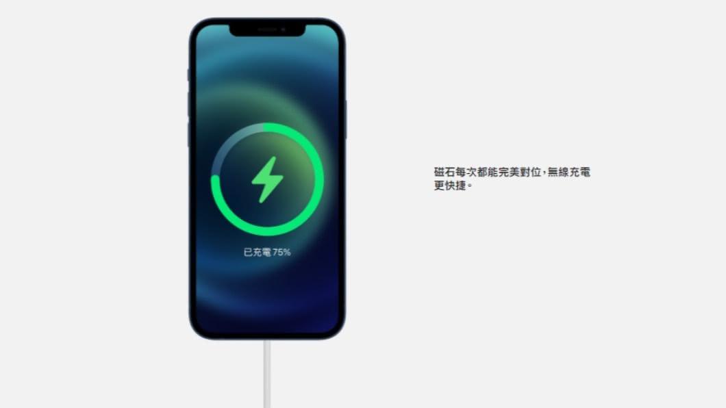 (圖/翻攝自蘋果官網) 5G版iPhone亮相 降低使用稀土和光達應用有亮點