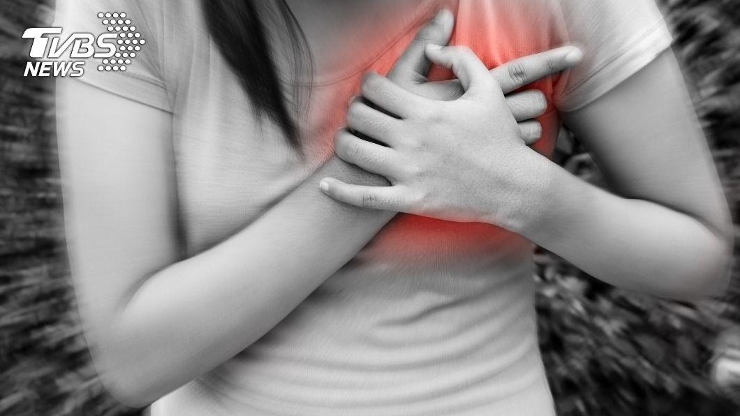 高血壓容易引起心肌梗塞等併發症。(示意圖/shutterstock達志影像) 控制「沉默殺手」高血壓! 正確測量血壓必遵守5件事
