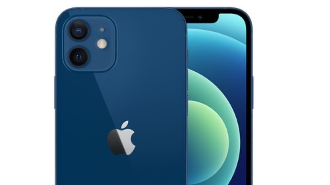 (圖/翻攝自蘋果官網) 根本「內褲藍」!蘋果iPhone 12實機開箱網吐血