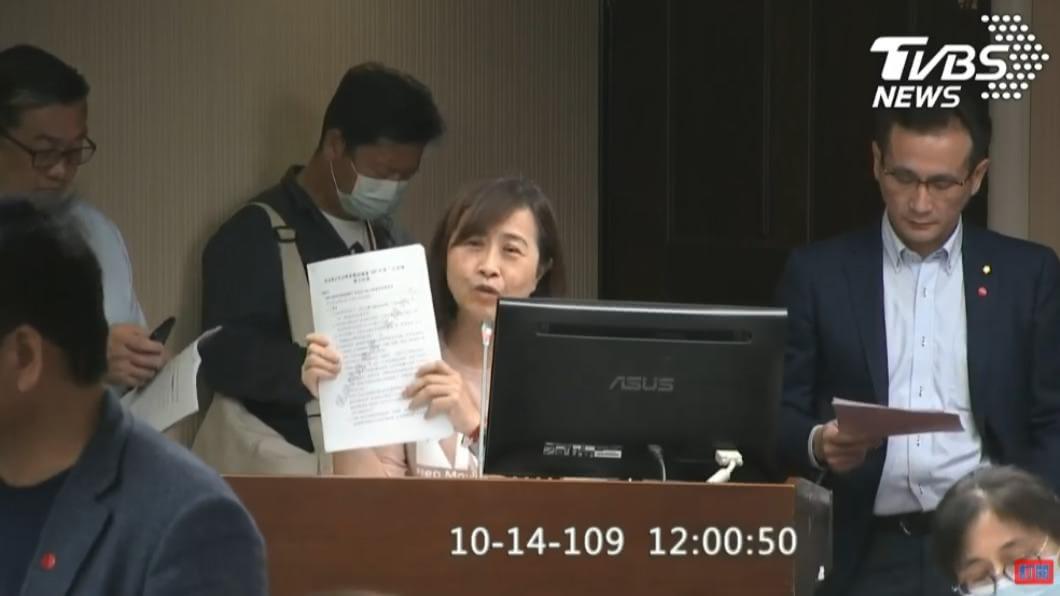 (圖/TVBS) 美豬風險評估報告 藍委疑刻意「少10元」規避公開招標