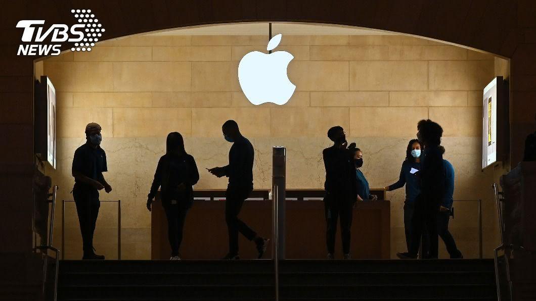 圖/達志影像美聯社 iPhone12缺亮點蘋果股價跌 仍看好掀換機潮