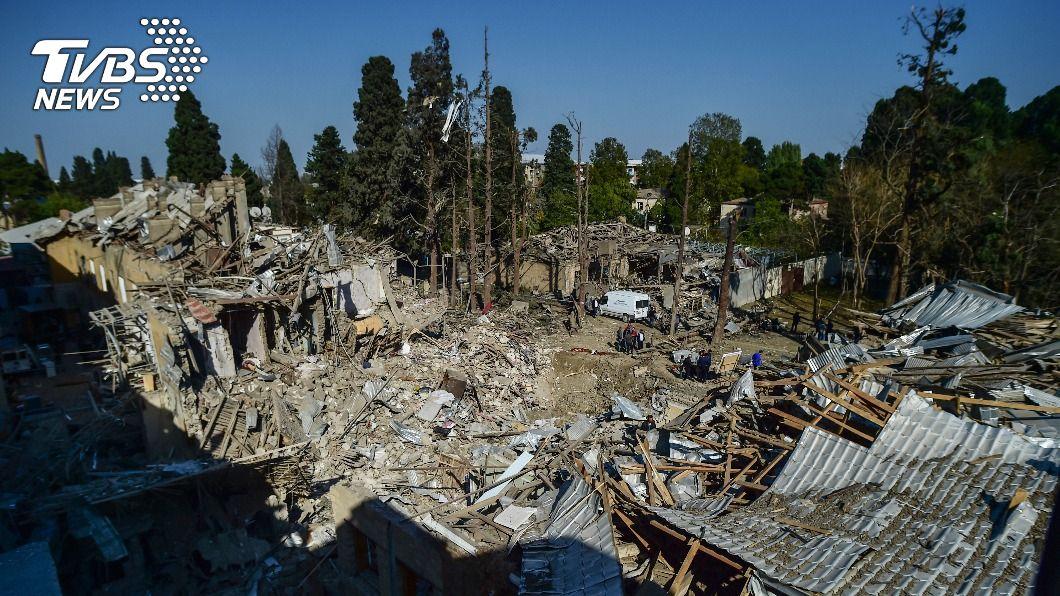 亞美尼亞和亞塞拜然無視停火協議再爆新戰事。(圖/達志影像美聯社) 不甩停火協議 高加索區衝突升溫紅十字會跳腳