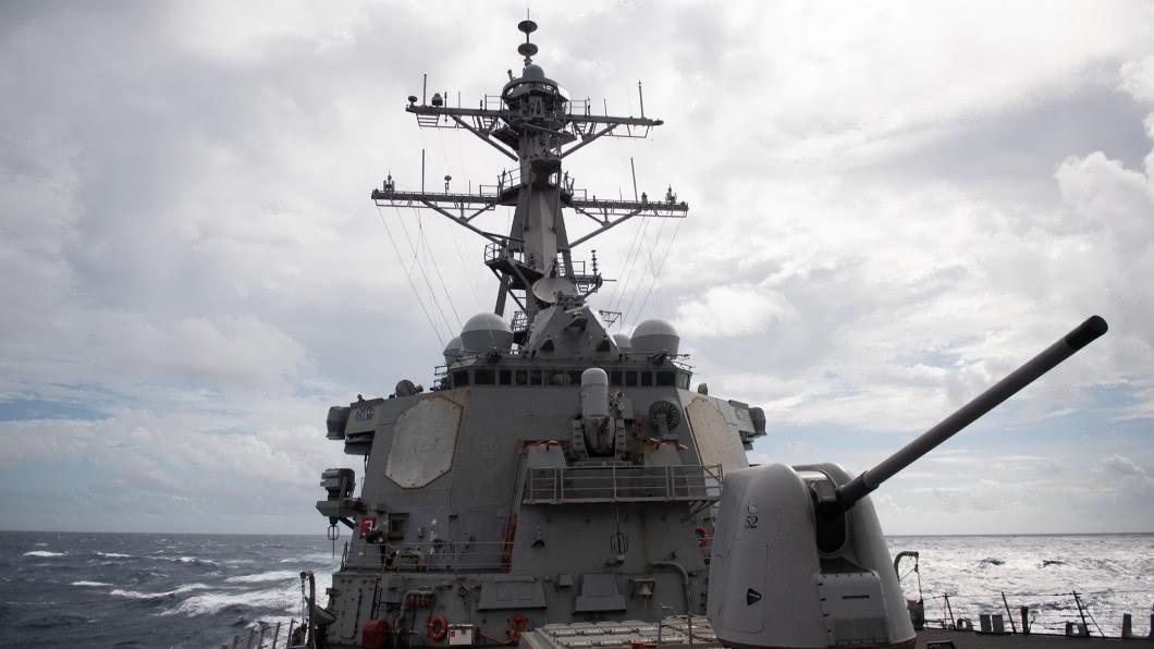 美國飛彈驅逐艦貝瑞號今年第10度航經台灣海峽。(圖/翻攝自美國太平洋艦隊臉書) 美軍證實驅逐艦貝瑞號經台海 國軍全程掌握