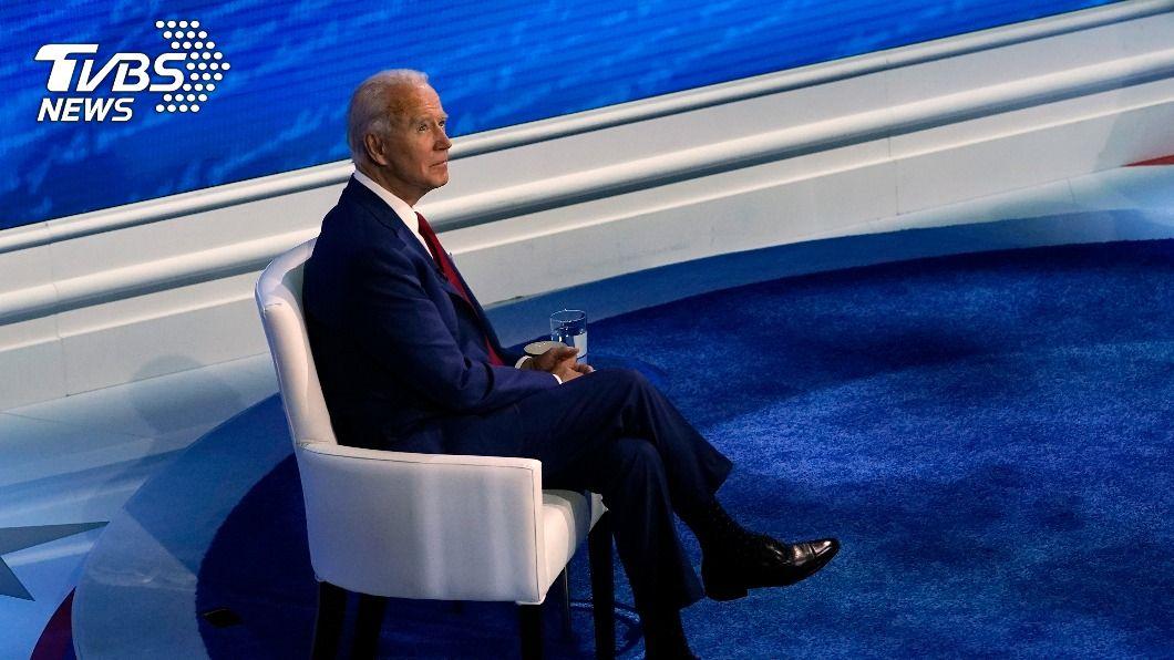 美國民主黨總統候選人拜登。(圖/達志影像美聯社) 次輪總統辯論取消 拜登隔空批川普「染疫仍無作為」