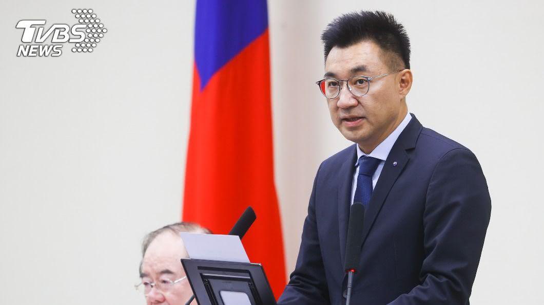 圖/中央社 傳藍營內部力拱「2022選桃園」 江啟臣給答案了