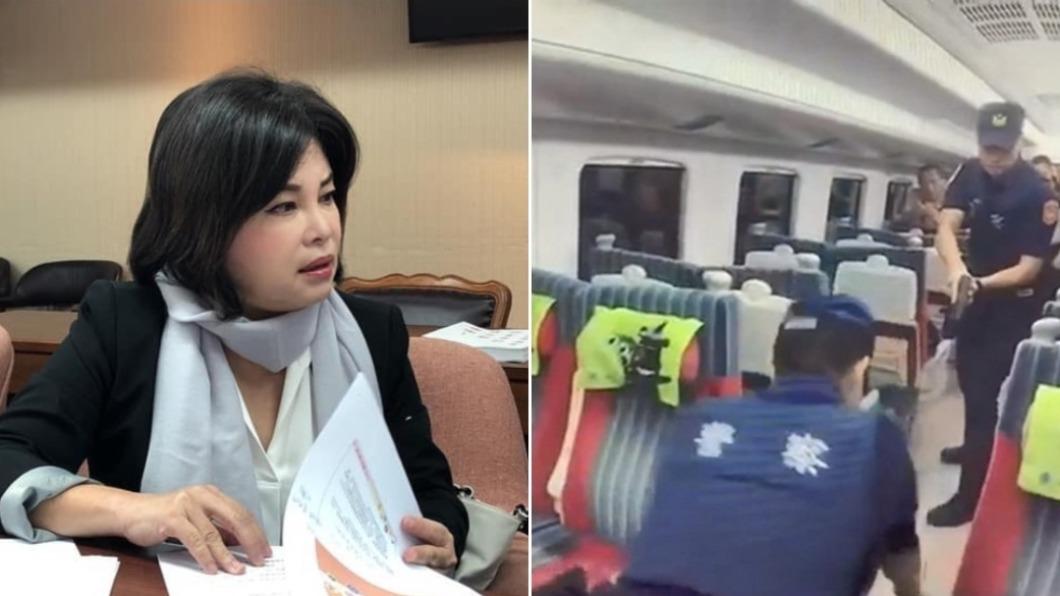 (圖/翻攝自賴惠員臉書、TVBS資料畫面) 批鐵路警察「丟臉」凍預算!網灌爆臉書 綠營立委道歉了