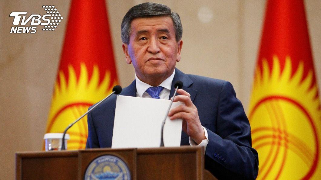 中亞國家吉爾吉斯前總統秦貝科夫。(圖/達志影像路透社) 吉爾吉斯選後動盪總統下台 新總理剛出獄就掌權