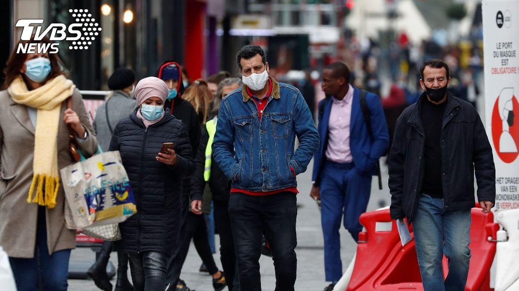 歐洲新一波疫情升溫,各國刷新單日確診數最多紀錄。(圖/達志影像路透社) 歐洲確診數飆升疫情告急 新冠肺炎最新情報