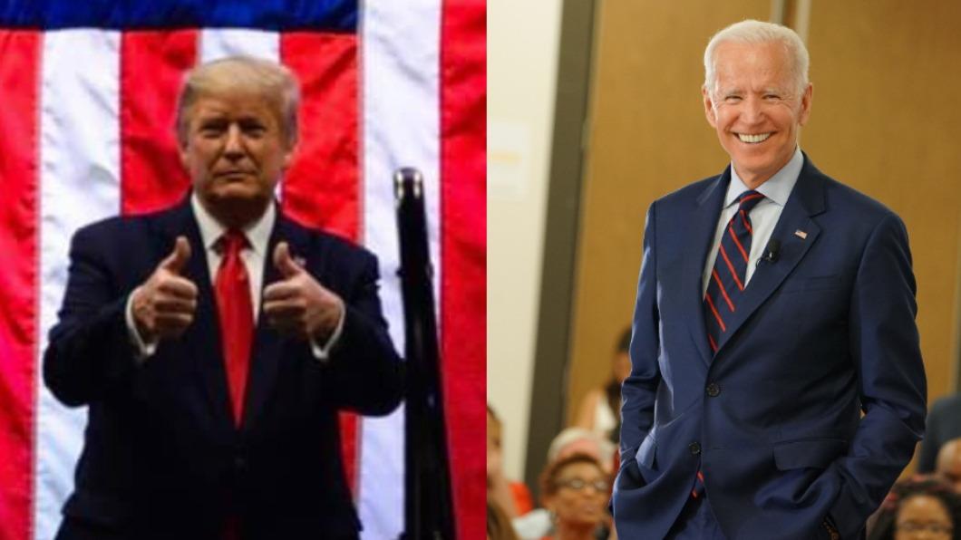 美國總統川普、民主黨總統候選人拜登。(圖/翻攝Donald J. Trump、Joe Biden臉書) 特朗普或拜登誰當選對脫歐後的英國有利