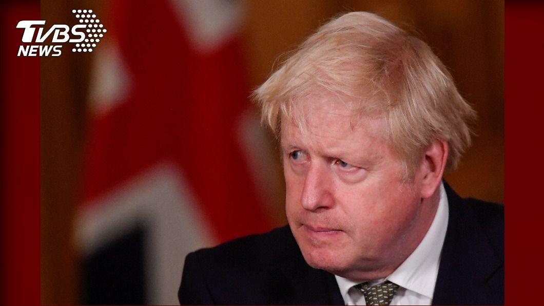 英國首相強生。(圖/達志影像路透社) 傳英國強生內閣認川普連任無望 轉向押注拜登