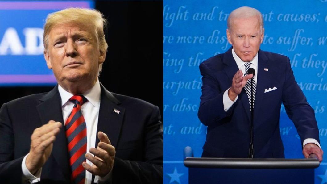 美國總統川普、民主黨總統候選人拜登。(圖/翻攝Donald J. Trump、Joe Biden臉書) 大法官下令!賓州選舉日後寄達選票隔離另計