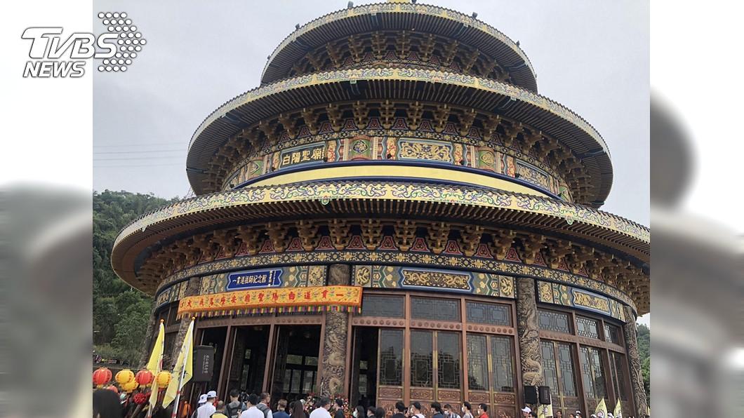 高度超越北京天壇! 白陽聖廟申請金氏世界紀錄