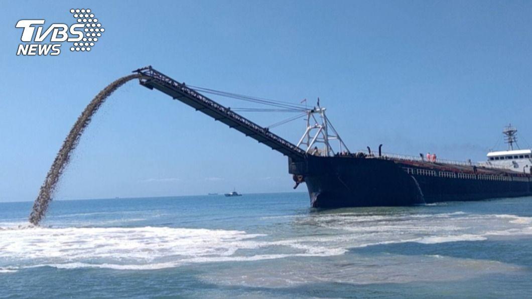 因陸船頻繁抽砂,導致莒光海底電纜受損影響通訊。(圖/中央社資料照) 陸船頻繁抽砂 馬祖莒光電纜受損2度斷訊