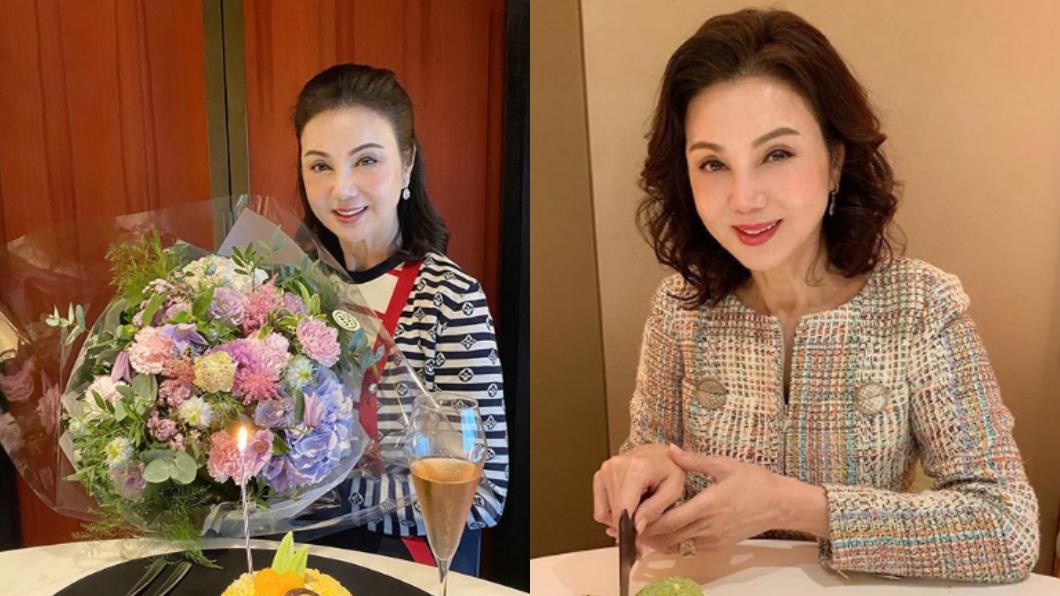 (圖/翻攝自謝玲玲Instagram) 富尪為王祖賢提離婚 瓊瑤女星「獲17億贍養費」近況曝