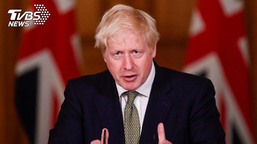 英國首相強生。(圖/達志影像路透社) 英媒爆強生私下抱怨「首相薪水低」 打算明春辭職