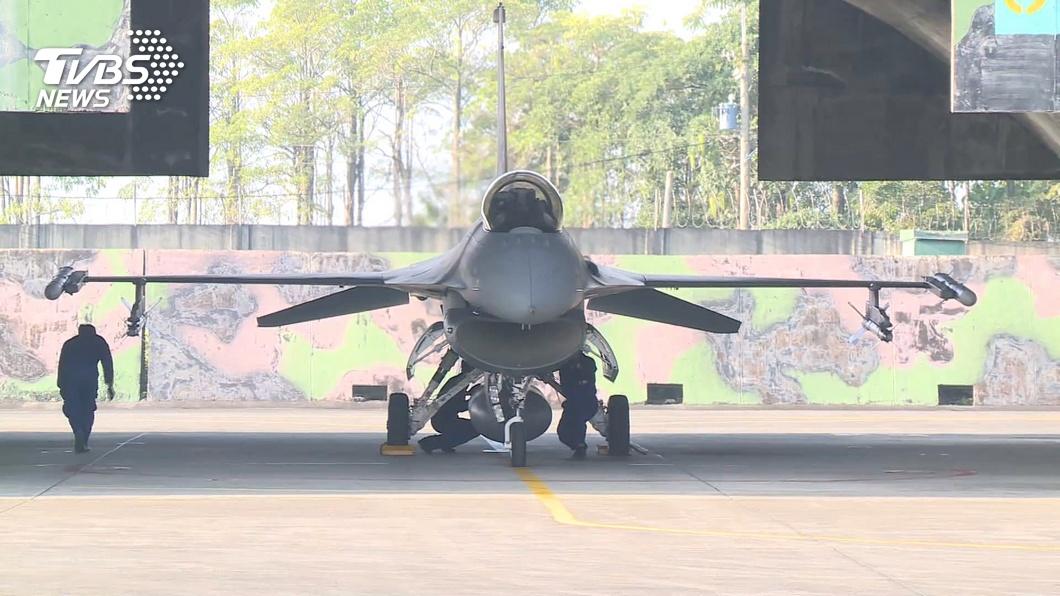 (圖/TVBS) 共軍頻擾台 空軍15天內出動1624架次對應
