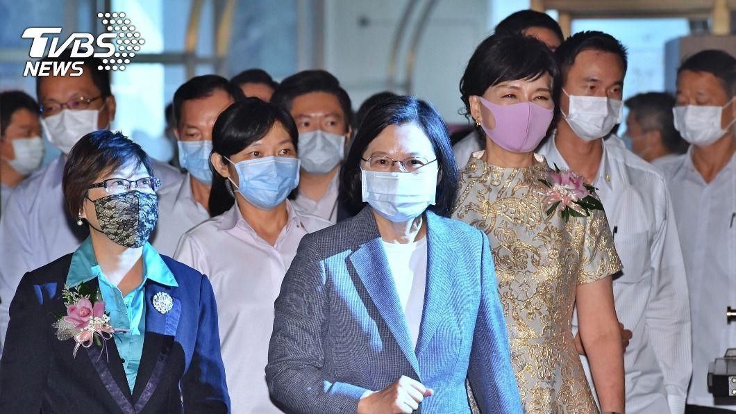 總統蔡英文出席世華年會開幕。(圖/中央社) 世華年會開幕 蔡總統籲擴大台灣與各國合作商機