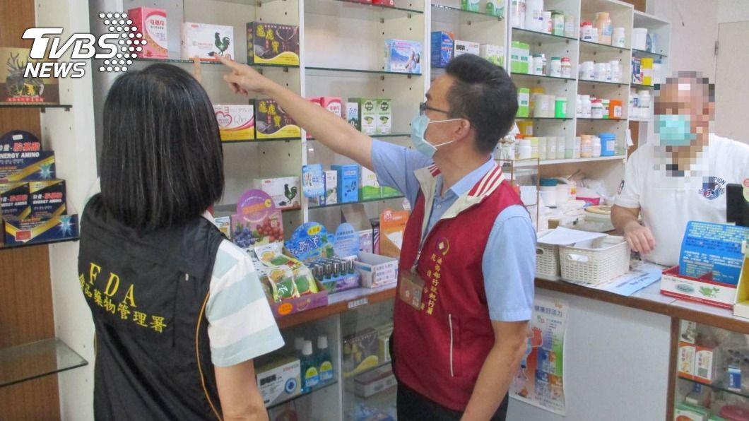(圖/中央社) 花蓮某藥局積欠逾30萬口罩代收費 執行署查封動產