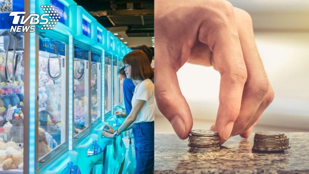 (示意圖/shutterstock達志影像) 專業撿錢!夾娃娃機前「跪地刮銅板」 月收多千元