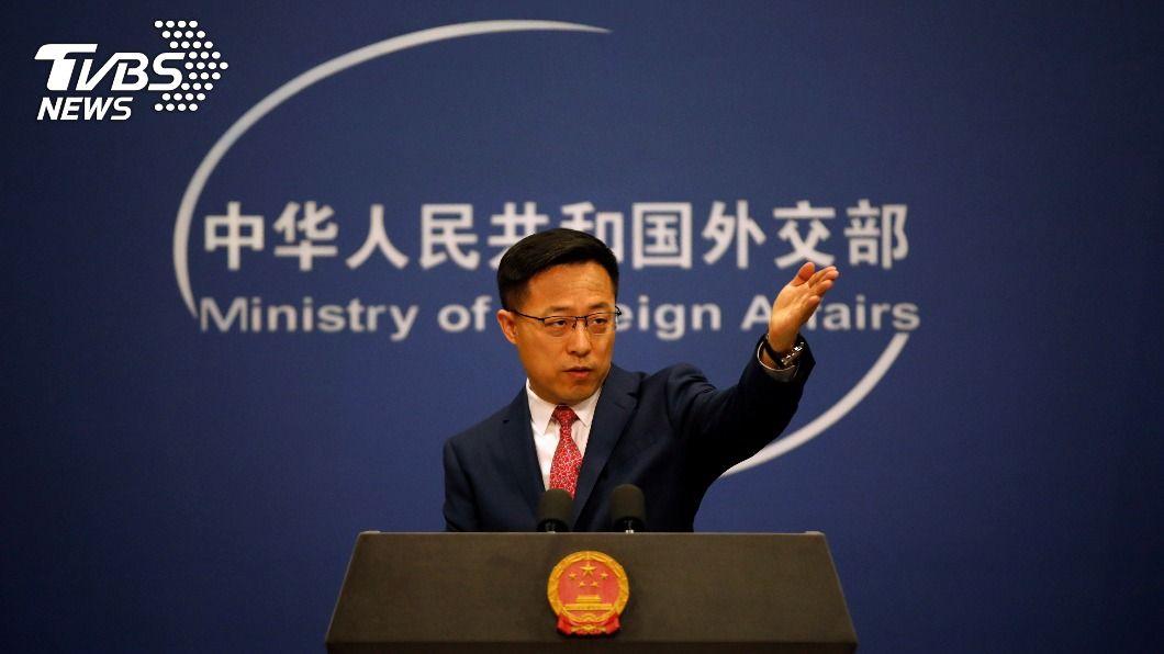 中國外交部發言人趙立堅。(圖/達志影像路透社) 美對台3軍售 陸外交部:干涉內政將作必要反應