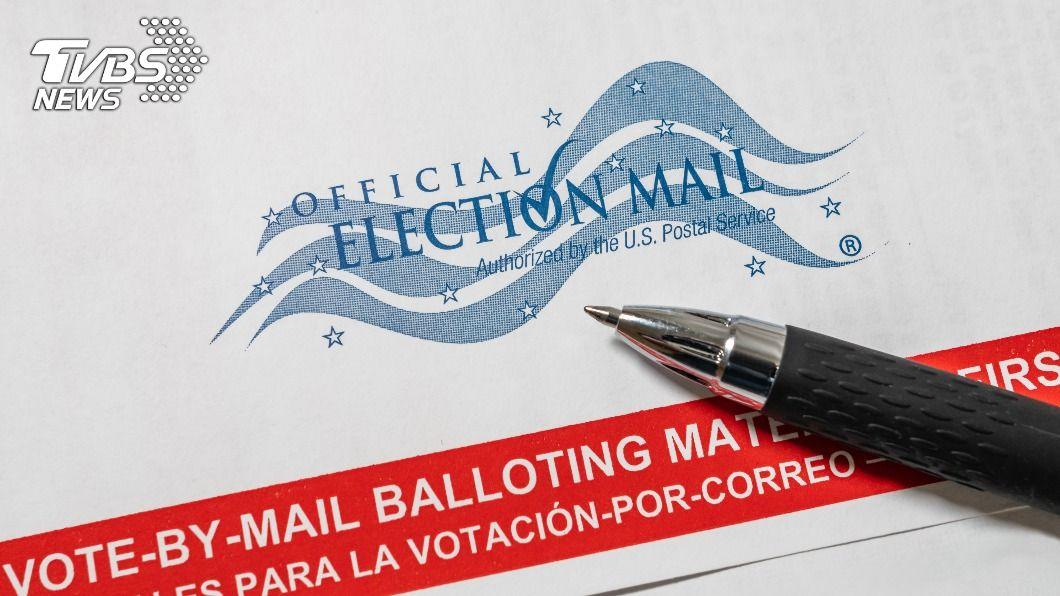 美逾4700萬選民已郵寄投票。(示意圖/shutterstock 達志影像) 美逾4700萬選民已投票 超越2016年選前總人數