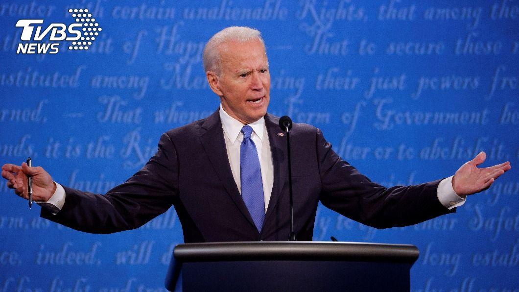 美國民主黨總統候選人拜登。(圖/達志影像路透社) 選前最後辯論 拜登:貿易議題會與盟邦合作施壓陸