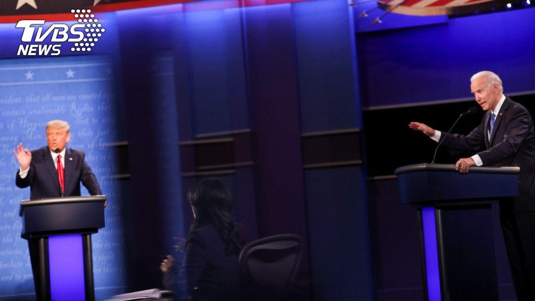 (圖/達志影像路透社) 川普自誇和金正恩關係良好 拜登:他是流氓耶