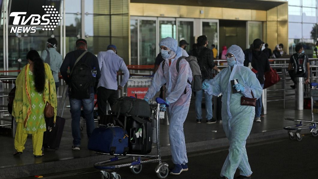(圖/達志影像路透社) 旅遊除外 印度放寬外國人和印僑進出印度