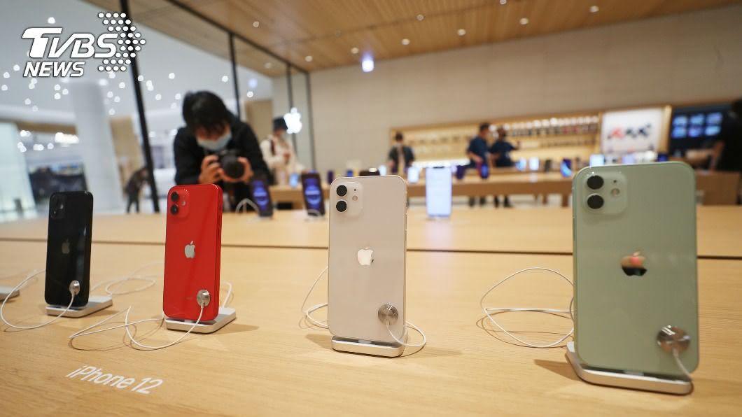 蘋果iPhone 12系列。(圖/中央社) 旺宏搶進蘋果i12供應鏈 奪OLED記憶體5成市占