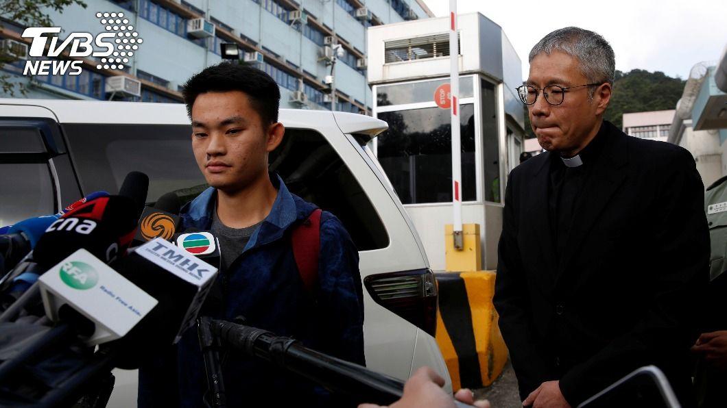 (圖/達志影像路透社) 港人陳同佳出獄滿1年 律師遞狀再表明投案意願