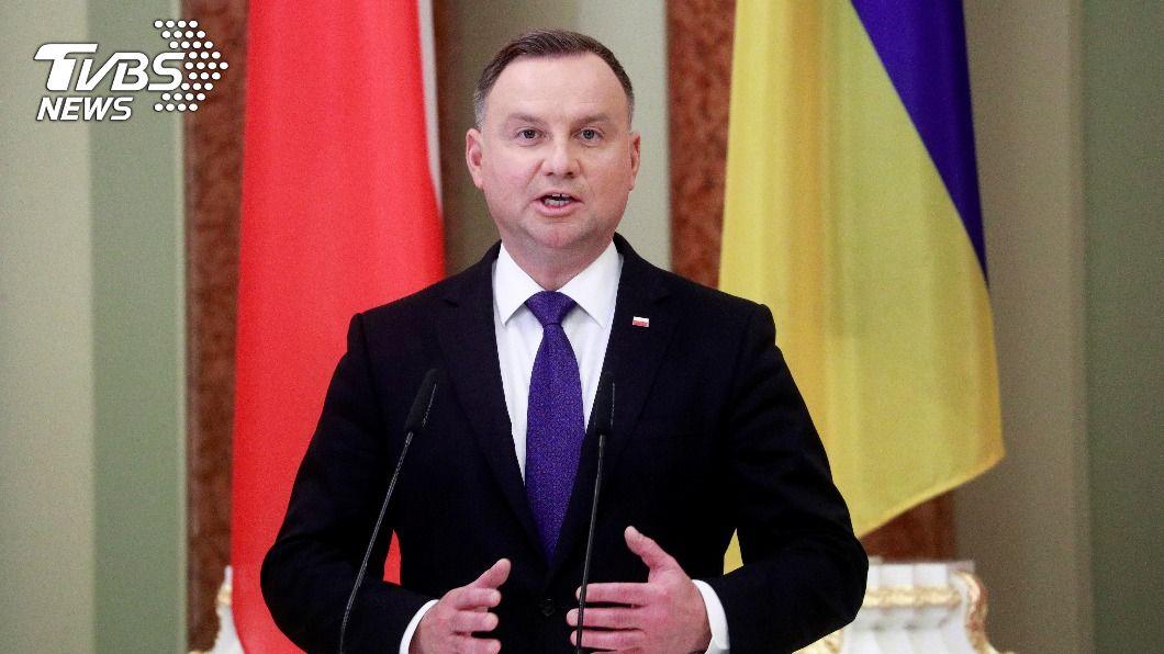 波蘭總統杜達杜達確診新冠肺炎。(圖/達志影像路透社) 再添國家元首染疫 波蘭總統杜達確診新冠肺炎