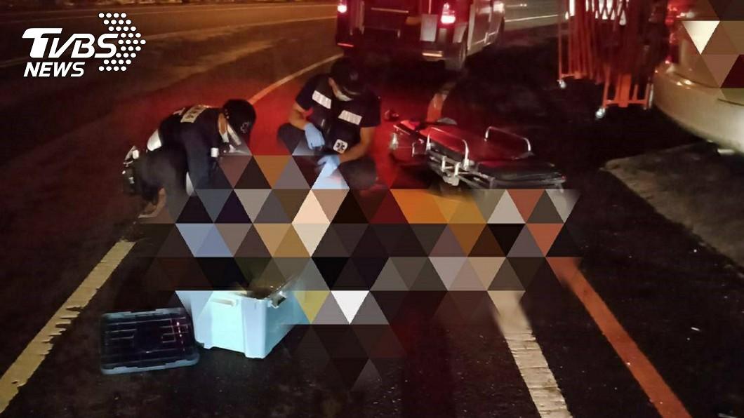 圖/TVBS 自來水公司主任「無外傷」倒路邊亡 確切死因待查
