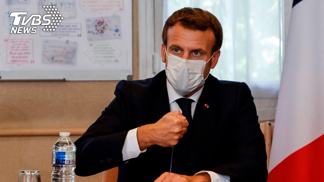 法國總統馬克洪。(圖/達志影像美聯社) 馬克洪批極端主義 巴基斯坦總理指控攻擊伊斯蘭