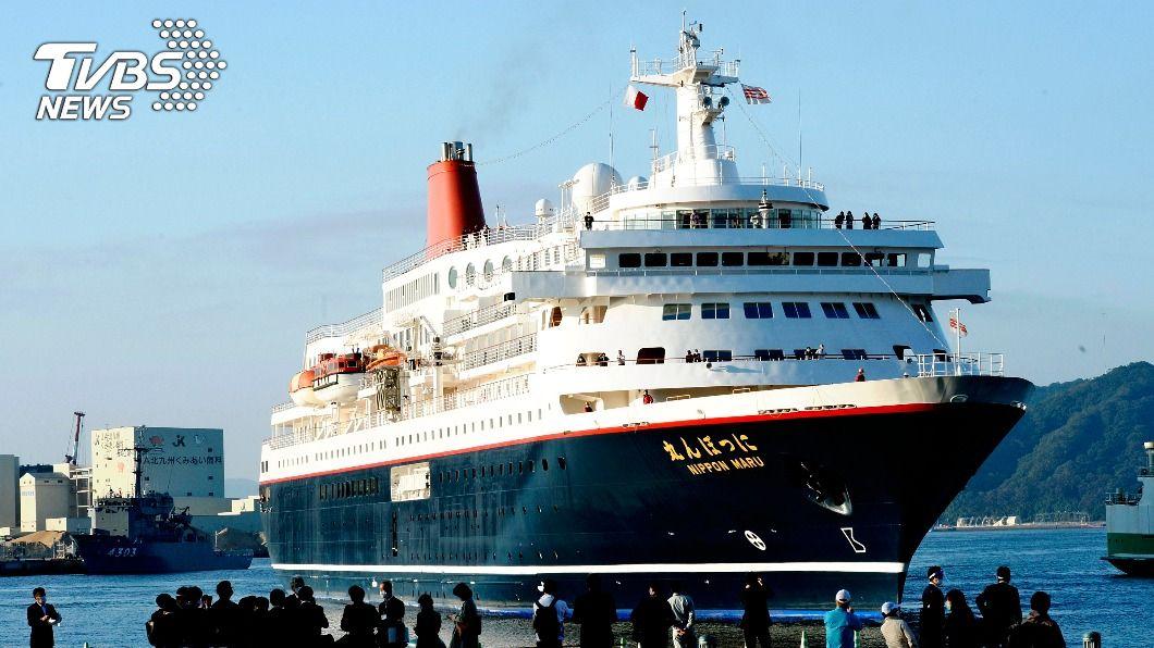 圖/達志影像美聯社 日本恢復海上旅遊! 3月以來首艘郵輪靠港