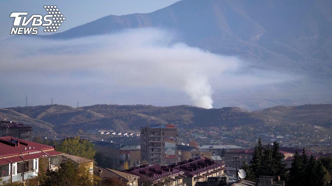亞塞拜然亞美尼亞再次同意停火。(圖/達志影像美聯社) 亞塞拜然、亞美尼亞再次同意停火 能否奏效待觀察