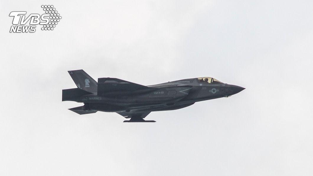 圖為F-35B戰鬥機。(示意圖/shutterstock 達志影像) 先進戰機部署印太 駐日美軍新增F-35B中隊