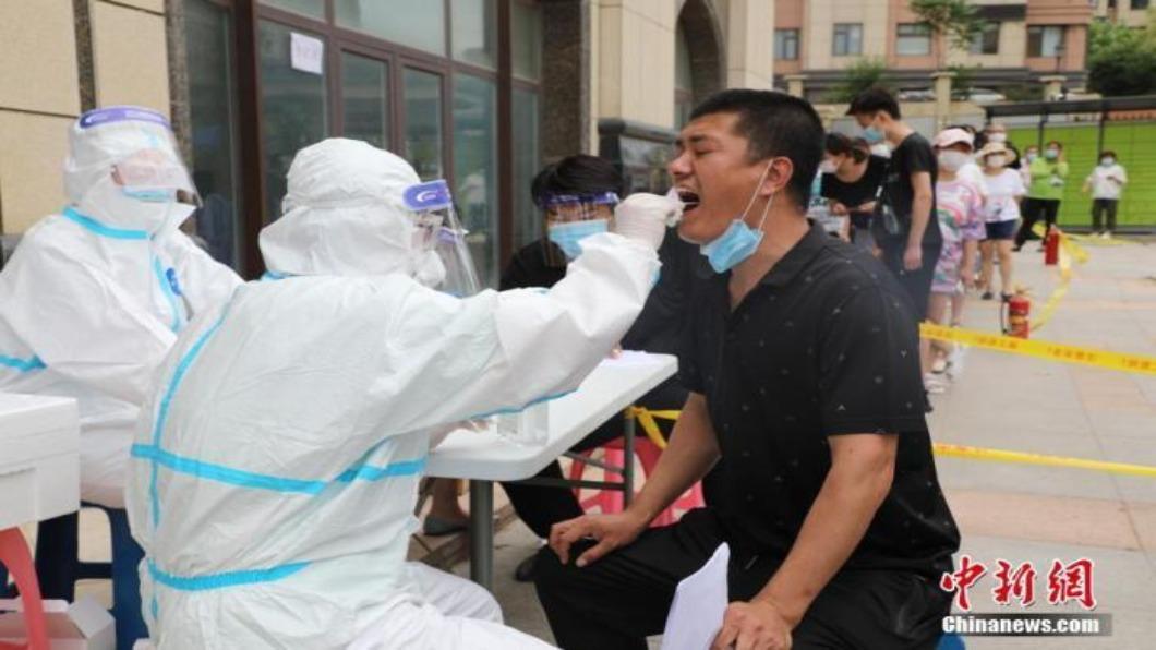 圖/翻攝自 中新網 新疆喀什激增137名無症狀者 四鄉鎮列高風險