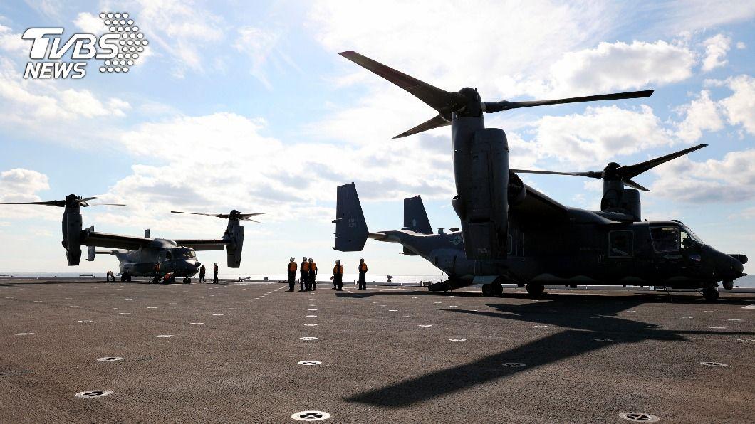 日本與美國的部隊在日本周邊展開兩年一度的「銳劍」海陸空軍事演習。(圖/達志影像美聯社) 大陸加強軍事活動 日美展開「銳劍」軍演秀實力