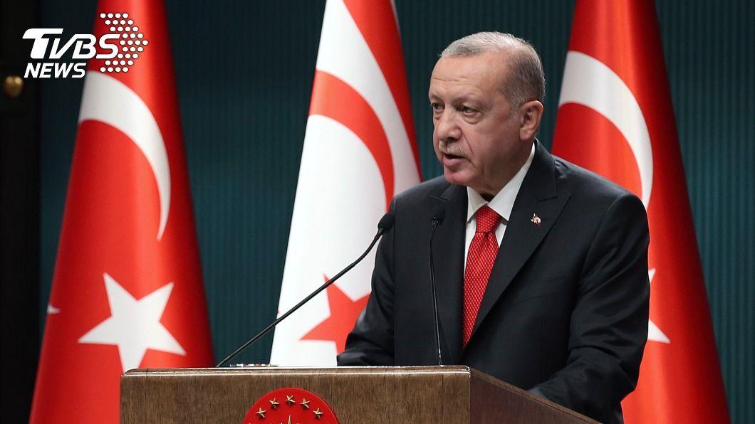 土耳其總統艾爾段。(圖/達志影像美聯社) 槓馬克洪越演越烈 艾爾段要土耳其人抵制法國貨