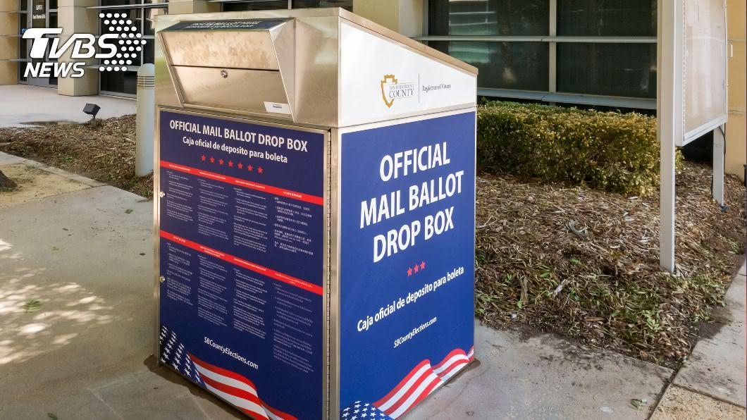 (示意圖/shutterstock 達志影像) 美總統大選選戰激烈 已逾6千萬人提前投票