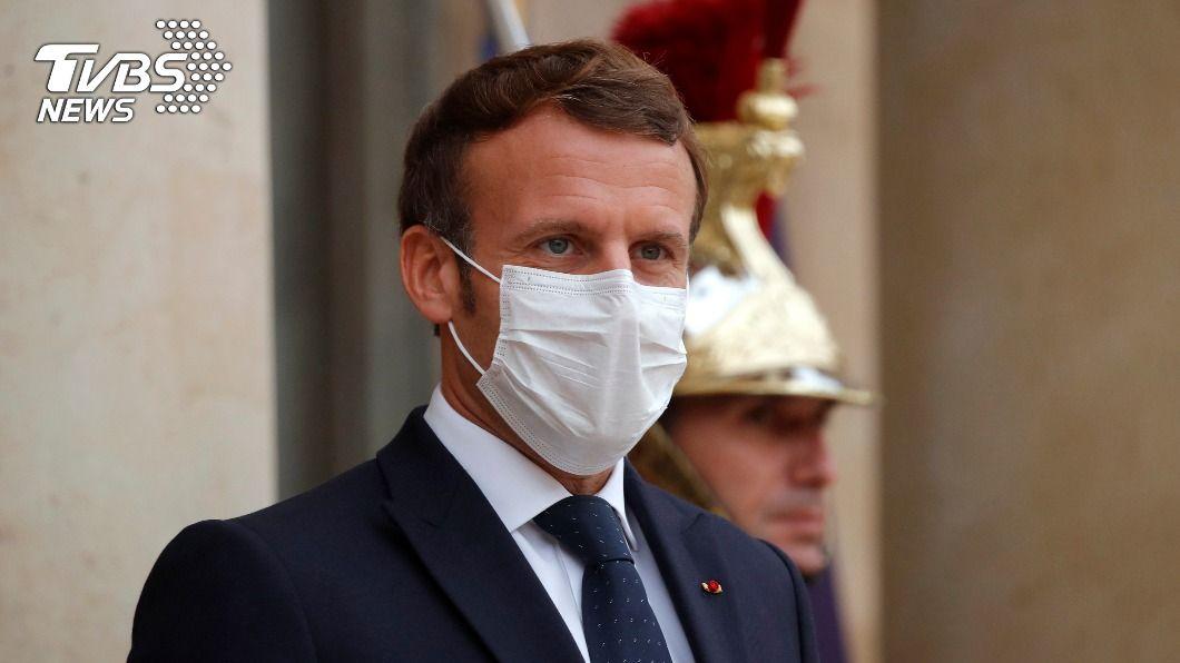 法國總統馬克洪。(圖/達志影像美聯社) 法土外交角力越演越烈 歐鄰國表態支持法國