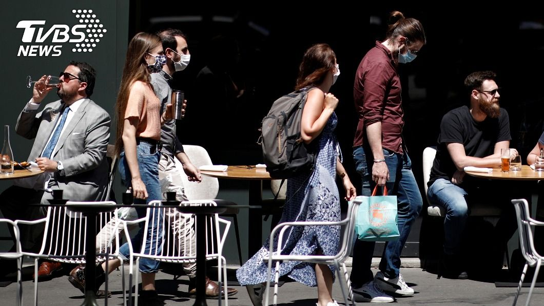 (圖/達志影像路透社) 歐洲疫情惡化 法國擬加強封鎖、德國耶誕市集取消